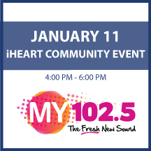 i Heart Community Event on January 11