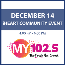 iHeart media Community Event on December 14