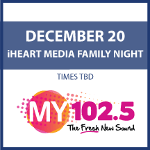 iHeart Media Community Event on December 20