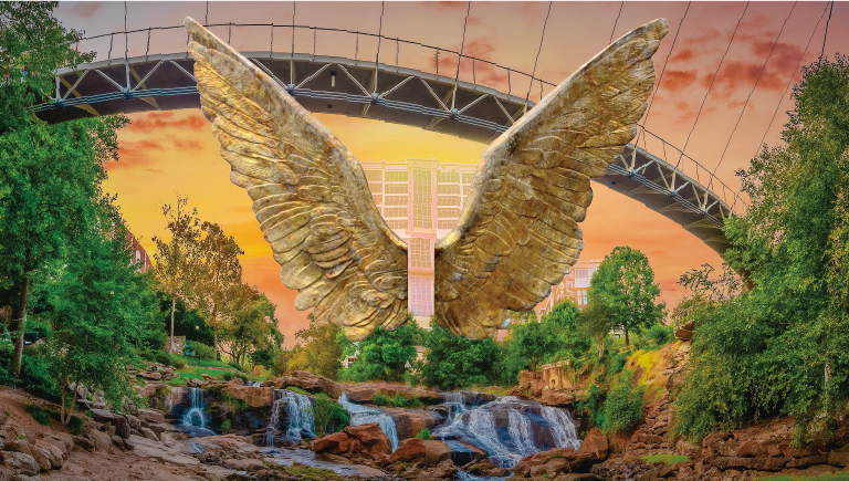 Wings of Greenville promotional poster