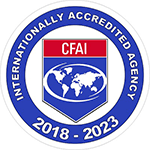CFAI logo identifying GCFD as a certified agency